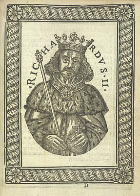 Richard Photograph - Richard II by British Library