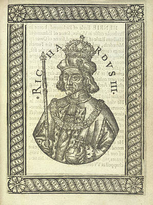 Aristocrat Photograph - Richard IIi by British Library