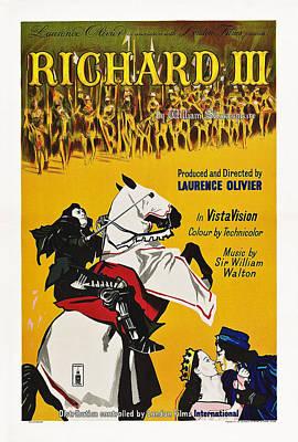 1955 Movies Photograph - Richard IIi, British Poster Art, 1955 by Everett