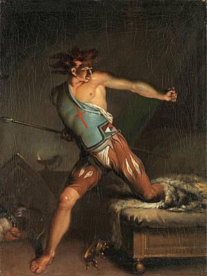 Painting - Richard IIi by Nicolai Abraham Abildgaard