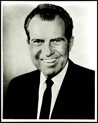 Potus Photograph - Richard M Nixon by Benjamin Yeager