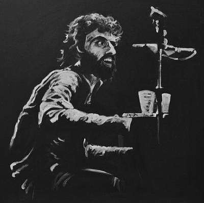 Piano Painting - Richard Manuel by Melissa O'Brien