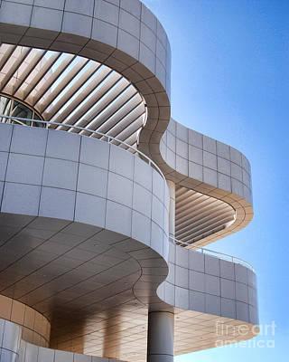 Richard Meier's Getty Architecture I Art Print