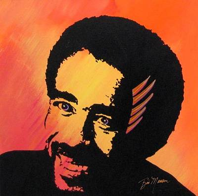Painting - Richard Pryor Live And Well by Bill Manson