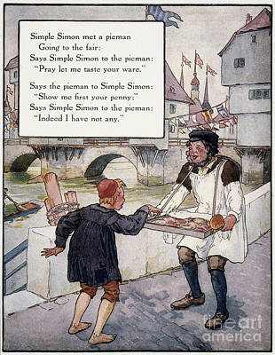 Richardson: Simple Simon Print by Granger
