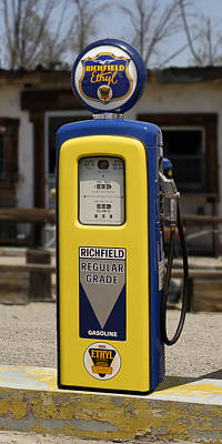 Richfield Ethyl - Gas Pump Art Print by Mike McGlothlen