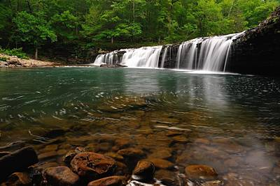 Richland Creek Photograph - Richland Creek Falls by Kurt Jones