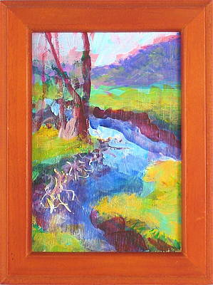 Painting - Richland Creek by Les Leffingwell