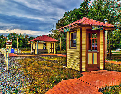 Photograph - Richland Train Station by Nick Zelinsky