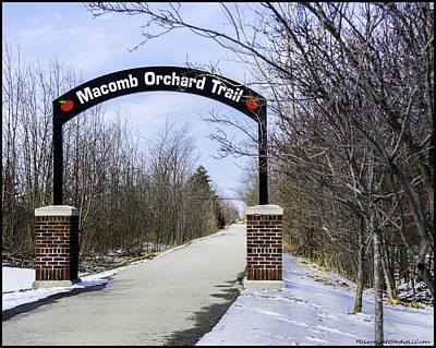 Photograph - Richmond Macomb Orchard Trail Head by LeeAnn McLaneGoetz McLaneGoetzStudioLLCcom