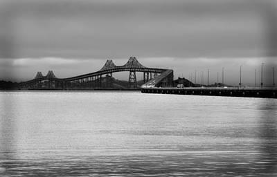 Richmond San Rafael Bridge Art Print