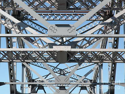 Richmond-san Rafael Bridge In California - 5d21452 Art Print