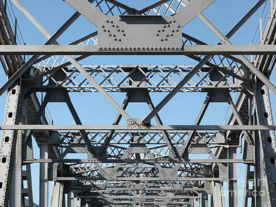 Richmond-san Rafael Bridge In California - 5d21453 Art Print