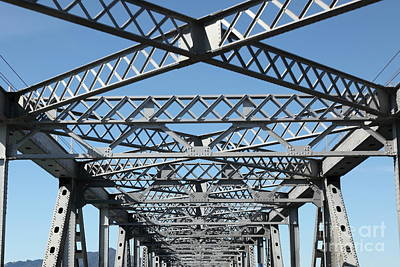 Richmond-san Rafael Bridge In California - 5d21454 Art Print