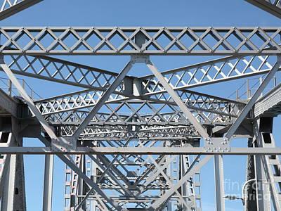 Richmond-san Rafael Bridge In California - 5d21458 Art Print