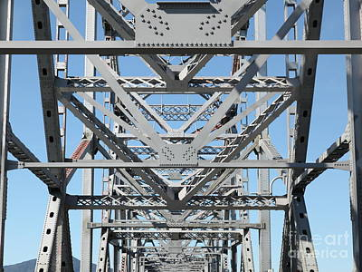 Richmond-san Rafael Bridge In California - 5d21459 Art Print