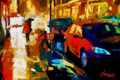 Richmond Street Tnm Art Print by Vincent DiNovici