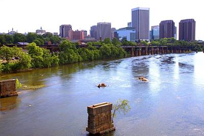 Photograph - Richmond Virginia by Gordon Elwell