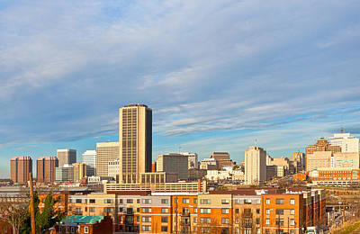 Photograph - Richmond Virginia Skyline by Melinda Fawver