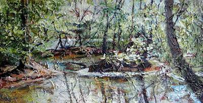 Painting - Richmond's River Beauty by Sheila Holland
