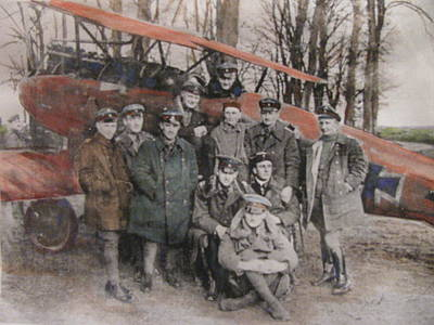 Richthofen And His Flying Circus Art Print