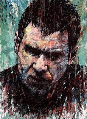 Blade Runner Digital Art - Rick Deckard by Tom Deacon