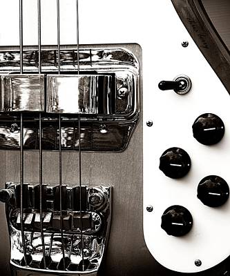Photograph - Rickenbacker Bass by Chris Berry