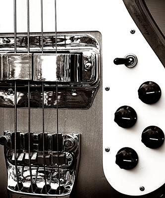 Rickenbacker Photograph - Rickenbacker Bass by Chris Berry