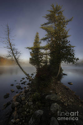 Vermont Wilderness Photograph - Rickers Pond - Groton State Forest Vermont by Thomas Schoeller