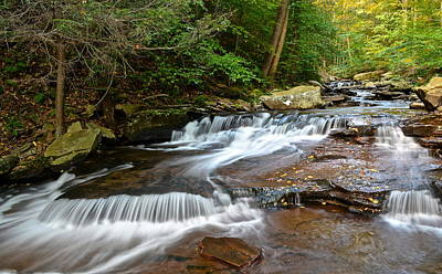 Tremendous Photograph - Ricketts Glen by Frozen in Time Fine Art Photography