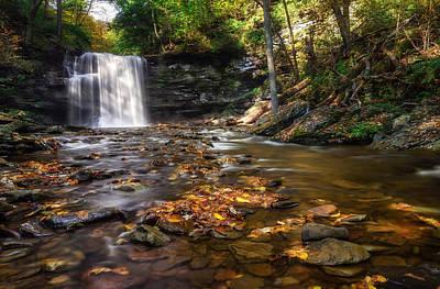 Pennsylvania Waterfalls Photograph - Ricketts Glen Waterfall by Mark Papke