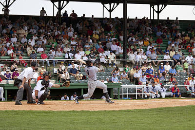 Photograph - Rickwood Field Classic Game In Birmingham by Carol M Highsmith