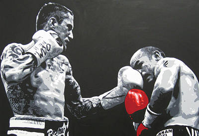 Ricky Burns 4 Art Print