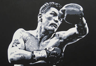 Painting - Ricky Hatton 3 by Geo Thomson