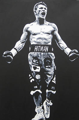 Painting - Ricky Hatton by Geo Thomson