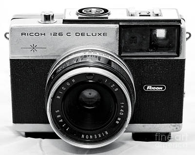 Photograph - Ricoh 126 C Deluxe by John Rizzuto