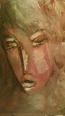 Volto Painting - Ricordi by Massimiliano Marino