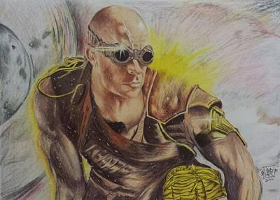 Riddick Art Print by DMo Herr