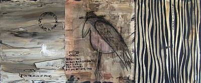 Riddle 12.0 Bean Counting Bird Art Print