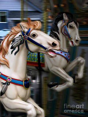 By Colleen Kammerer Photograph - Ride A Painted Pony by Colleen Kammerer