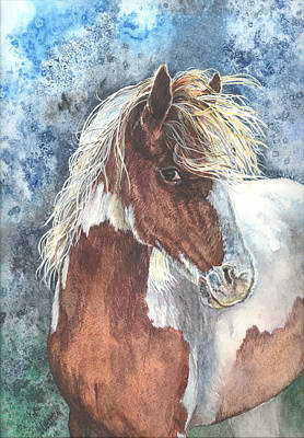 Painting - Pinto Pony by Kim Sutherland Whitton
