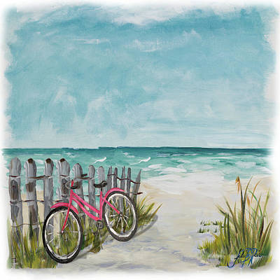 Shore Digital Art - Ride Along The Shore by Julie Derice