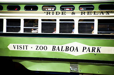 Ride And Relax San Francisco Street Car Art Print by SFPhotoStore