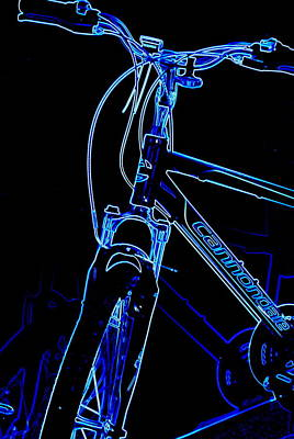 Photograph - Ride Blue by Mary Beth Landis