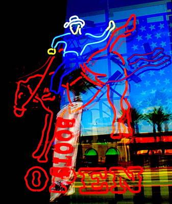 Photograph - Ride Em Cowboy by Randall Weidner