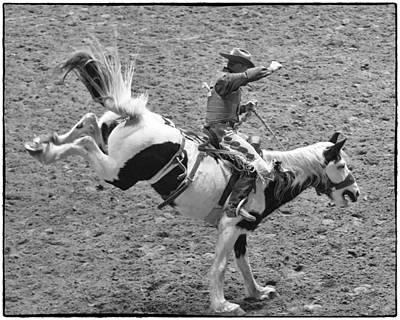 Bronc Photograph - Ride Em Cowboy by Stephen Stookey