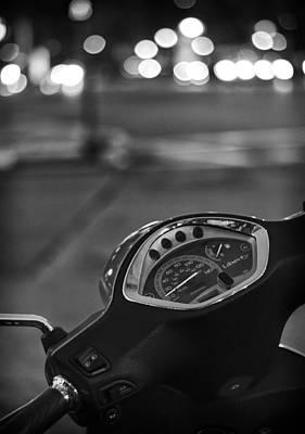 Aperture Photograph - Ride Me Through The City by Pablo Lopez