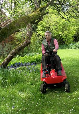 Mower Photograph - Ride-on Lawn Mower by Sheila Terry