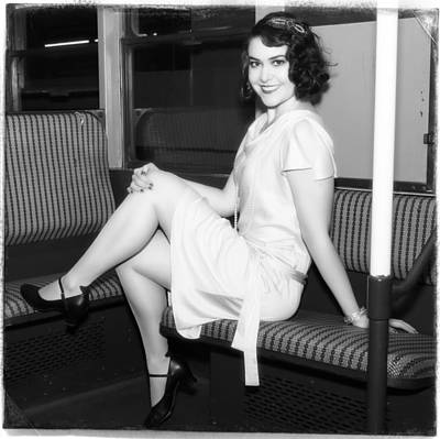 Photograph - Ride The Pinup Express 5 by Jim Poulos