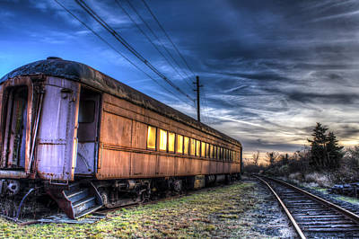 Photograph - Ride The Rails by Andrew Pacheco